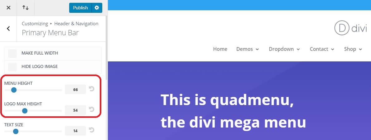 Divi Headers and Menu Types (Part 1)